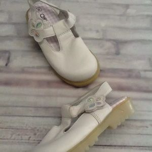 Girls Cherokee Shoes Size 8 White NWT